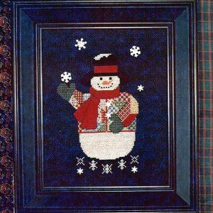 Patchwork Snowman