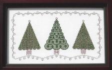 Three Christmas Trees